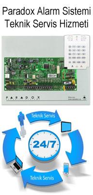 Paradox Alarm Sistemi Teknik Servis Hizmeti